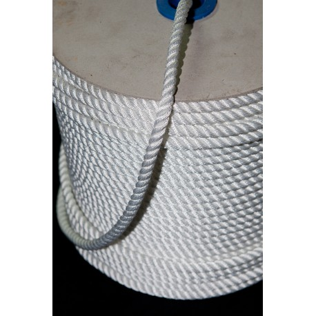 Cordage nylon plombé